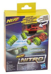 Hasbro Nerf Nitro Soft Racer Stunt Set (Motivauswahl) Barrelslam (E1271)