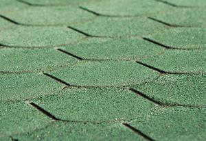 WEKA Dachschindeln Biberschw. Farbe: vintage grün, 3 qm, Länge: 100 cm, Breite: 34 cm, Höhe: 6 cm; 100.1014.31.00