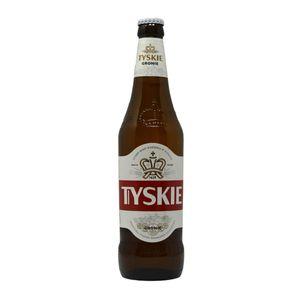 Tyskie Gronie Bier 0,5l, polnisches Bier