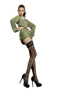 halterlose struempfe Ballerina 216 schwarz Stockings Damenstruempfe , Größe:L/XL - (40/42)