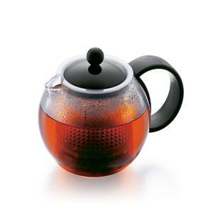 Bodum Teebereiter mit Kunststoffsieb und Kunststoffdeckel, 0.5 l