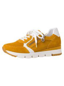 Marco Tozzi BY GUIDO MARIA KRETSCHMER Damen Sneaker gelb 2-2-83703-26 F-Weite Größe: 37 EU