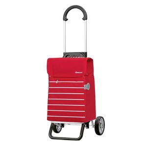 Andersen Shopper Scala Plus mit Tasche Lini rot 34 Liter