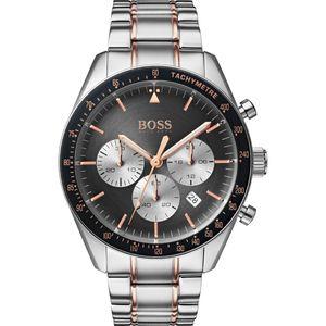 Hugo Boss 1513634 Trophy Herren QUARZ Armbanduhr  44mm Edelstahl CHRONOGRAPH Neu