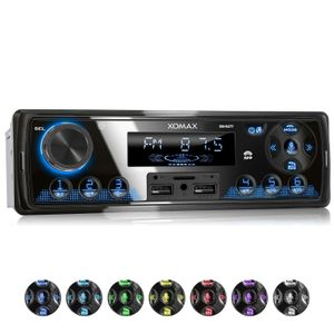 XOMAX XM-R277: 1DIN, Autoradio mit Bluettoth, FlashXO, USB, AUX IN, ohne Laufwerk