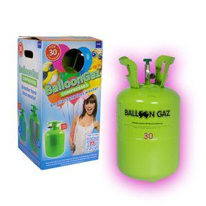 Ballongas Helium Einweg Flasche 30 Heliumflasche Ballon Luftballons Party