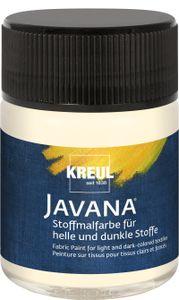 Javana Stoffmalfarbe für helle und dunkle Stoffe Vanille