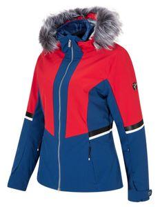 Ziener Damen Ski-Jacke Winterjacke trendige Skijacke TOYAH lady blau rot, Größe:36