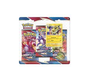 Pokemon SWSH05 Schwert & Schild Kampfstile 3-Pack Blister Deutsche Ausgabe
