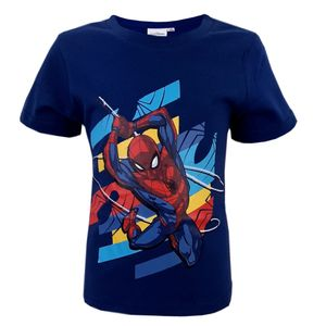 Marvel Spiderman Kinder T-Shirt Classic Blau 104