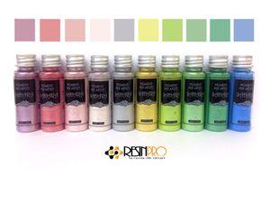 resinpro Set Sahara Pigments Pearline Farben Pastell