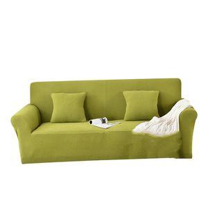Sofabezug Stretch Sofahusse Sofa Abdeckung Sofa Überwurf Hussen für Sofa, Couch, Sessel Modern Solide 145-185 cm lebhaftes Grün