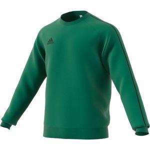 Adidas CORE 18 Sweatshirt grün-schwarz