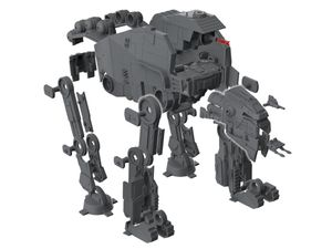 Revell First Order Heavy Assault Walker - Modellbausatz; 6761