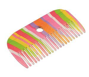 ARNDT Mähnenkamm im Regenbogen-Design, 10 x 5cm