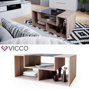 VICCO Couchtisch Gabriel Sonoma Eiche 100cm Sofatisch Kaffeetisch Beistelltisch