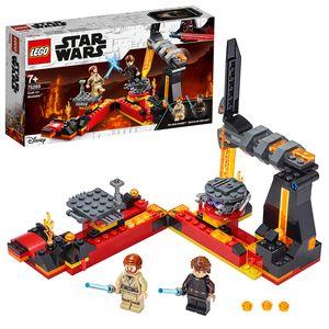 LEGO 75269 Star Wars Duell auf Mustafar, Die Rache der Sith, Spielset mit Anakin Skywalker und Obi-Wan Kenobi Minifiguren