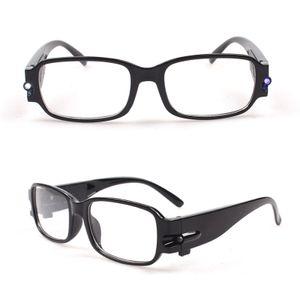 4.0 Unisex Magnetische LED-Leuchten Lesebrillen Brillen Brillen Nachtsicht