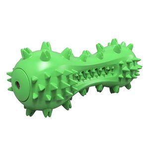 Hundezahnbürste Reinigungsstab Kauspielzeug Für Alle Rassen Hund Green_with 180x80mm Modern Zahnbürste Grün_mit Ton