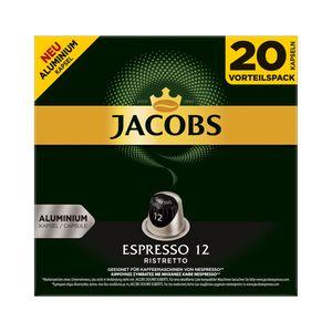 Jacobs Espresso Ristretto | 20 Nespresso® komp. Kapseln