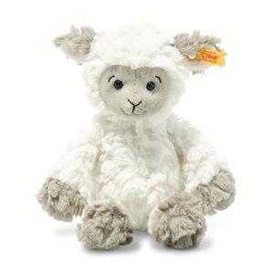 Steiff 073946 Soft Cuddly Friends Lita Lamm | 20 cm weiss/braungrau