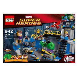 LEGO 76018 Marvel Super Heroes Hulks Laborsmash Hulk Thor Modok Avengers