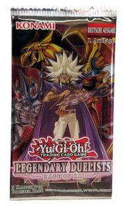 Yu-Gi-Oh! Legendary Duelists 'Rage of Ra' Booster Pack deutsch 1. Auflage, Menge:1 Stück