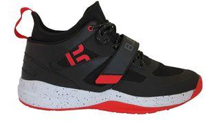 "B.EASE Basketballschuh ""Iron Feet"" Unisex Gr. 35 EU, Schwarz/Rot"