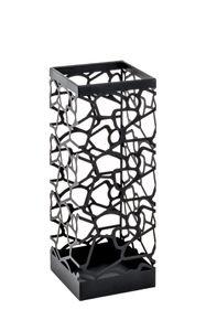Haku Schirmständer, schwarz - Maße: 17 cm x 17 cm x 45 cm; 20559
