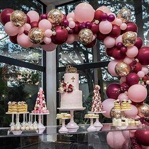 Ballonbogen Kit Ballonbogen Luftballon Set Nachbildung Hochzeit Geburtstag Mädchen