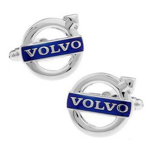 Volvo Shirt Car Logo Manschettenknopf für Männer Manschettenknöpfe Manschettenknöpfe Abotoaduras Schmuck