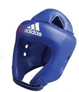 adidas kopfschutz Boxleder blau Größe XL