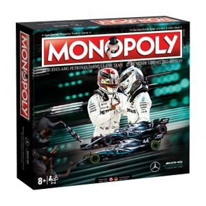 Monopoly Mercedes F1 AMG Petronas Brettspiel Gesellschaftsspiel Boardgame