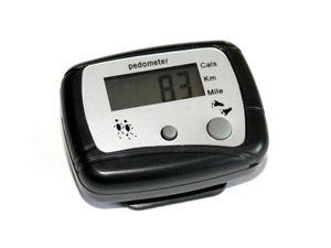 Schrittzähler Kalorienzähler Pedometer mit Gürtelclip Km Meilen Kalorien Fitness