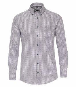 Casa Moda - Comfort Fit - Herren Freizeit Hemd mit Button Down Kragen (413634800), Größe:XXL, Farbe:Blau (100)