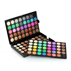 120 Farben Augenschminke Palette, Lidschatten Palette - Profi Augenpalette / Eyeshadow Makeup Palette