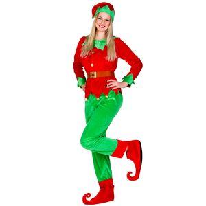 dressforfun Frauenkostüm Weihnachtselfe - XXL