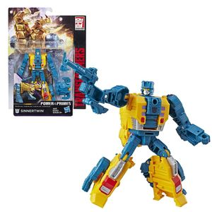 Hasbro E1133 Transformers Deluxe Power of The Primes Sinnertwin Roboter Figur