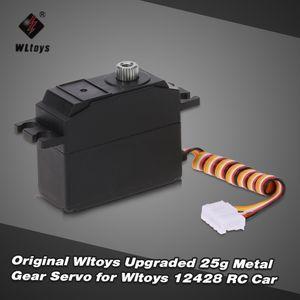 Original Wltoys Upgrade 25g Metall Zahnrad Servo fuer Wltoys 12428 RC Auto