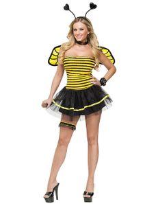 Geschäftige Biene Kostüm, Größe:S/M