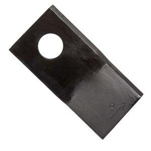 25x Klinge für Kreiselmäher | links | 100 x 48 x 3 mm | passend zu Niemeyer | Vergleichsnr.: 570419