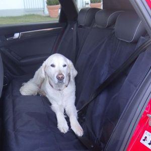 Autoschondecke Autoschutzdecke Tierdecke Nutzlastdecke Hundedecke Transportdecke für die Rücksitzbank, 146x123cm, wasserabweisend