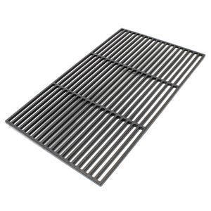 Gusseisen Grillrost eckig 60 x 40 cm massiv für Holzkohlegrill Gasgrill