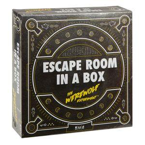 Mattel FWK72 - Escape Room - Brettspiel, Das Werwolf-Experiment