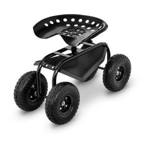 Hillvert Fahrbarer Gartensitz - 150 kg