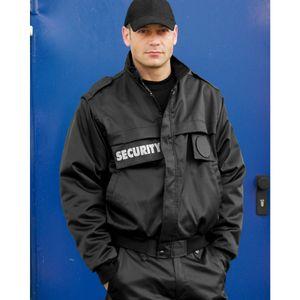 Security Blouson Zip-Off, schwarz