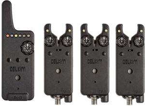 DELKIM 3+1 Set Txi-D + RX-D, Digitales Bissanzeigerset, grün, blau, rot, DDSET401