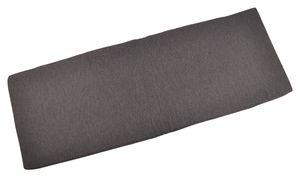 Gartenmöbel-Auflagen Bankauflage Sitzkissen Stuhlkissen Hockerauflage Kissen, Farbe:dunkelgrau, Auflagenart:Bankauflage