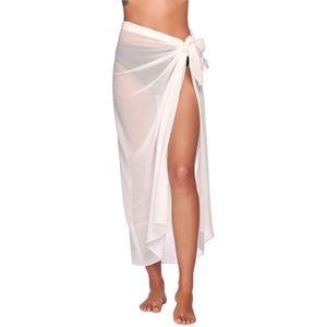 Frauen Chiffon Badebekleidung Pareo Schal Strand Cover Up Wrap Kaftan Sarong LNP210317367