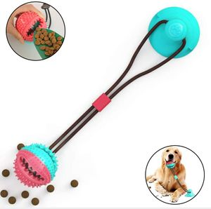 Hundespielzeug mit saugnapf,pet Toy mit saugnapf,pet Molar chew Spielzeug,Multifunktion Pet Molar Biss Spielzeug,Dog Interactive Molar kauspielzeug,pet Molar bite Toy